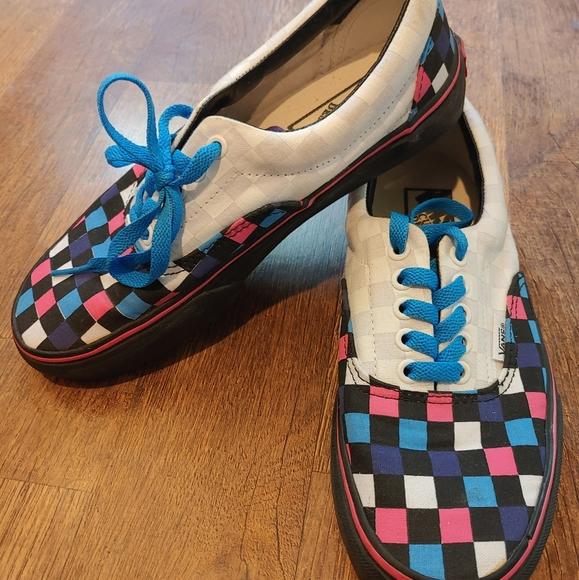 Custom Checkerboard Vans | Poshmark